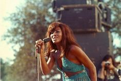 Tina Turner onstage (1969)