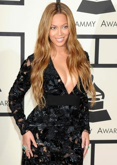 Beyonce Knowles Wearing Proenza Schouler at 2015 Grammy Awards in Los Angeles