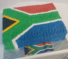 Heritage Day South Africa #heritage #heritageday #southafrica #flag #piped #cake #dlish 13 Birthday Cake, 13th Birthday, Heritage Day South Africa, Flag, Instagram, 13 Birthday, Science, Flags