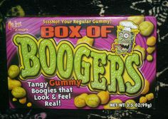 Box of Boogers | Junk Food Betty