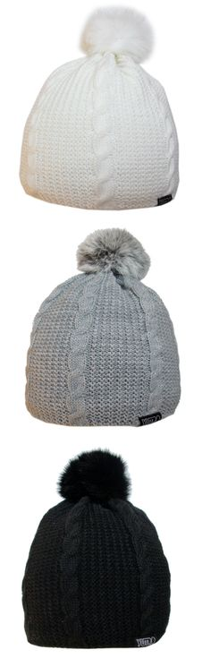 38f55a67e22 Very classy and warm Winter beanie hat was knitted from top quality Italian  soft blend of wool and acrylic. The pom pom adds a chic to this YUTRO  Fashion ...