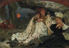 Edgar Maxence, La légende bretonne, Musée d'Orsay