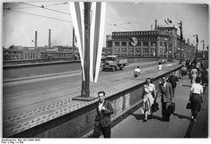 1956 Berlin-Oberschoeneweide,Treskowbruecke