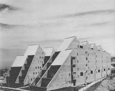 rogelio salmona and hernan vieco - marulandia housing development, bogot& colombia, 1966 Architecture Awards, Gothic Architecture, Architecture Design, Modern Love, Abandoned Buildings, Building Design, Installation Art, Interior And Exterior, Houses