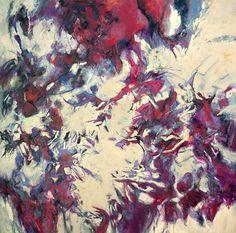 """""""AMANECE""""      Técnica mixta, acrílico, crayón de cera sobre lienzo . 250 cm x 250 cm Año de realización 2013"""