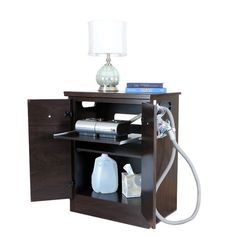 Shop a great selection of Solid Black CPAP Nightstand Moisture Resistant Surfaces. Find new offer and Similar products for Solid Black CPAP Nightstand Moisture Resistant Surfaces. Bedroom Furniture, Bedroom Decor, Master Bedroom, Bedroom Ideas, Diy Furniture, Furniture Projects, Diy Projects, Bedroom Hacks, Dream Bedroom