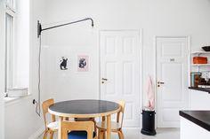 "gravityhome: "" Scandinavian apartment Follow Gravity Home: Blog - Instagram - Pinterest - Facebook - Shop """