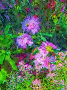 Polka Dot Petals by J. Gazo-McKim #abstract #flowers #artprints