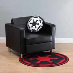 Star Wars Round Rugs - the Imperial one is awesome