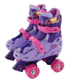 Take a look at this Fairies Quad Adjustable Skate by Disney on #zulily today!