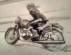 Watercolor by Yuri Calpurnio