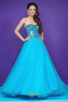 Quinceanera Formal Evening 2013 Prom Dresses Ball Gown Sweetheart PD66ACDE - VoguePromDresses for mobile