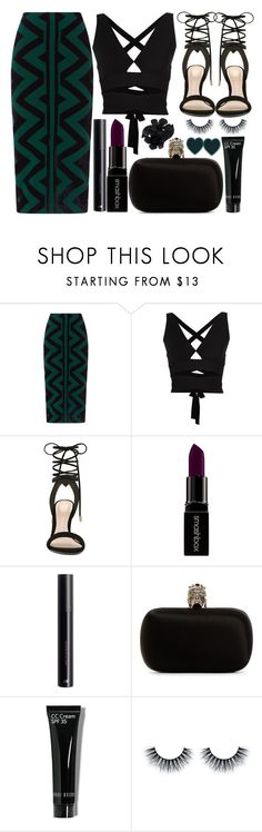 """street style"" by sisaez ❤ liked on Polyvore featuring Burberry, Proenza Schouler, ALDO, Smashbox, Alexander McQueen, CC and Valentino"