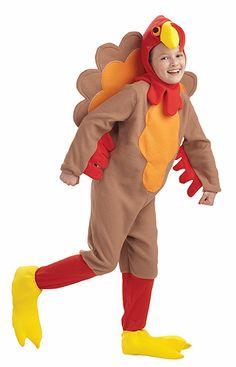 Kids Turkey Costume                                                                                                                                                                                 Más