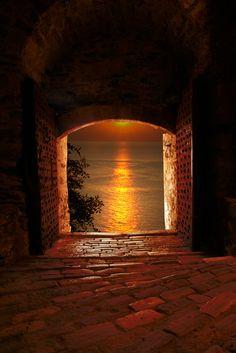 gyclli:Sunset at Mount AthosA gift *** by papadimitriou