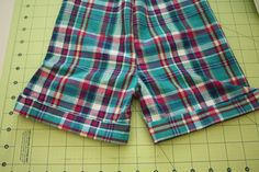 cuffed shorts tutorial – Craftiness Is Not Optional