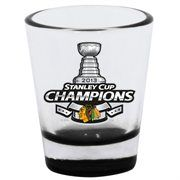 Chicago Blackhawks 2013 NHL Stanley Cup Final Champions Commemorative 2oz. Highlight Shot Glass