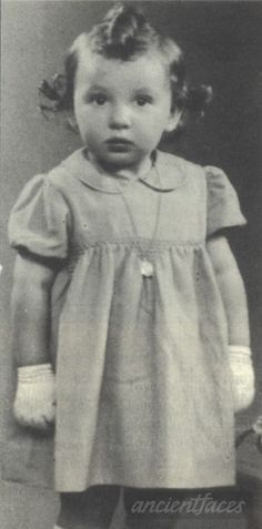 Marceline Kogan two year old victim of the holocaust in 1942