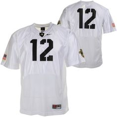 Nike Army Black Knights  12 Youth Replica Football Jersey - White 1d2e68ea1