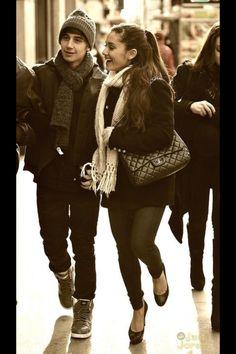 Ariana Grande & Jai Brookes they are so cute!!!!!!  Omg Jai Brookes is following meon keek !!!!!!!! Can u follow me their too?