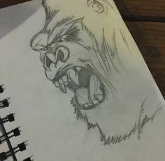 Sketches : KONG : Skull Island Sketches !! By : @thahoodmax