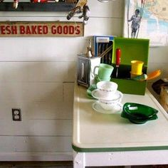 KITCHEN RETRO #vintage #fifties #decor