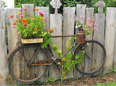 8 #DIY Bicycle Planters   DIY to Make                                                                                                                                                      More