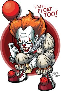 Pennywise The Dancing Clown by Kraus-Illustration.deviantart.com on @DeviantArt