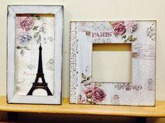 Paris Paris, Mirrors, Decoupage, Frames, Candy, Vintage, Home Decor, Boxes, Craft