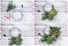 wreath steps