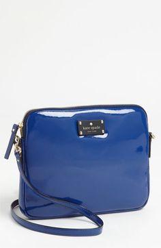 kate spade new york 'bryce - flicker' patent leather iPad crossbody bag