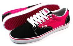 Vanz, red & black