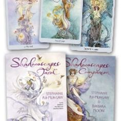 Product of the day.  The Shadowscapes Tarot is one of tbe most gorgeous decks I have ever seen.  We have the deck and book set just the deck and the coloring book. You have to see it in person absolutely gorgeous.  http://ift.tt/1WGcJXU