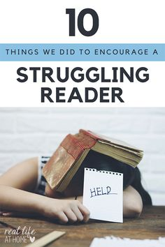 Is your child a reluctant or struggling reader? Here are 10 strategies parents can use at home to help struggling readers.