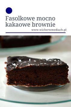 Dietetyczne brownie z fasolki