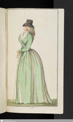 129 - Abschnitt - Journal des Luxus und der Moden - Page - Digitale Sammlungen - Digital Collections
