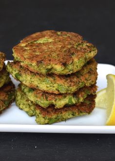 Broccoli Fritters   Every Last Bite