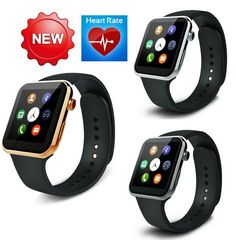 Best to BuyMany health care funcation New Smartwatch A9 Bluetooth Smart watch for Apple iPhone & Samsung Android Phone relogio inteligente reloj smartphone watch (gun)   Product Information: Case Size: 40*46.5*9.8 mm Case Material: Metal, eco-friendly Strap Length: approx. 19-26cm, adjustable, suitable fo