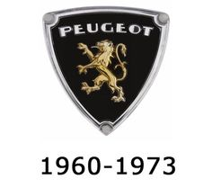 Logo Peugeot  1960-73