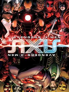 Avengers, X-Men see Red in Marvel's 'AXIS' event - USA TODAY #AXIS, #MarvelComics