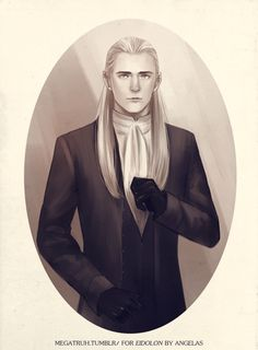 19th century Legolas by megatruh