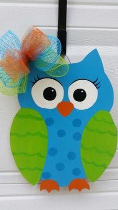 Owl Teacher Door Decor by MoniLulis on Etsy, $35.00