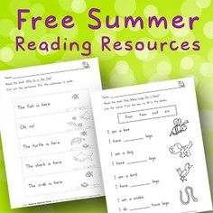 FREE Summer Books for kids going into First Grade