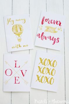 51 Valentine's Day Decoration Ideas – Valentine's Day Decoration – Valentine's Day … Printable Gift Cards, Printable Valentines Day Cards, Valentine Day Crafts, Diy Craft Projects, Craft Tutorials, Diy Crafts, Date, Art Therapy Projects, Art Corner