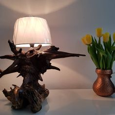 Table Lamp, Lighting, Instagram, Design, Home Decor, Driftwood Lamp, Colors, Table Lamps, Decoration Home