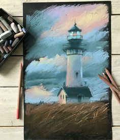 shared by Alexis Way - Malerei Kunst Chalk Pastel Art, Soft Pastel Art, Pastel Artwork, Oil Pastel Paintings, Oil Pastel Drawings, Chalk Pastels, Chalk Art, Art Drawings, Oil Pastels