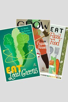 The Victory Garden of Tomorrow: Eat Local Greens poster