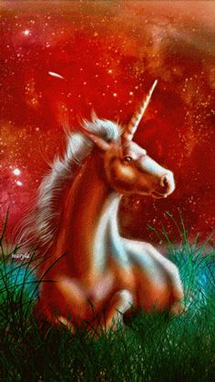 Unicorn Fantasy Myth Mythical Mystical Legend
