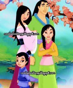 Hmm Mulan and her hubby and kids. Pretty cool!
