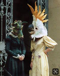 Stefanie Buss I love her work so much.- Stefanie Buss Я так люблю ее работы. Stefanie Buss I love her work so much …. Animal Masks, Animal Heads, Felt Dragon, Felt Birds, Costume Design, Masquerade, Puppets, Wearable Art, Creepy